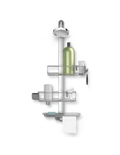 Simplehuman shower support , stainless steel and aluminum