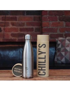 Thermos bottle Silver inox l.t.0.260 Chilly's