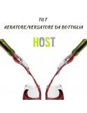 Tappo aeratore per ossigenare il vino direttamente dalla bottiglia