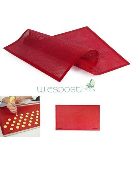 Tappetino in silicone platinico microforato 52x31,5 Pavoni