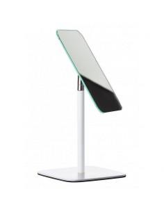 Specchio da bagno o toletta trucco base metallo bianco Zone Denmark