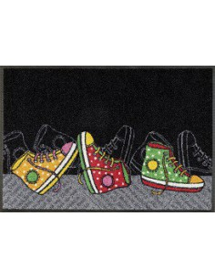 Tappetino antiscivolo Happy Sneakers 50x75 Kleen Tex