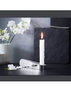 transparent candleholder Swan by Rosenthal Studio Linea