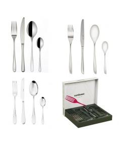 Cutlery set for 6 persons stainless steel by Sambonet