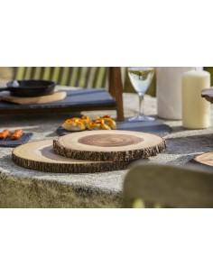 Serving acacia chopping boards by Zassenhaus