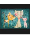 """Corsia """"Musa toscana"""" di Kleen Tex 60x180 sottile,antiscivolo,lavabile in lavatrice"""