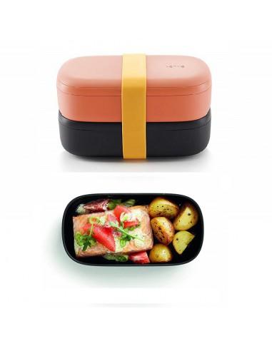 Porta pranzo e porta spuntino compatti e contenitivi-da microonde