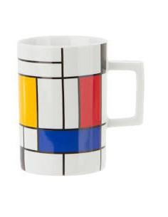 Tazze porcellana Hommage to Mondrian by Koenitz