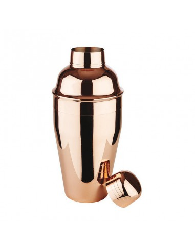 Cocktail shaker stainless steel pvd copper by Paderno