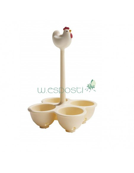 Cook eggs Coccodandy ASG11 W by Alessi