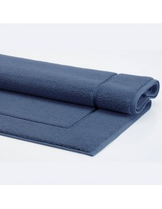 Tappeto da bagno London 60x100 color blu Denim