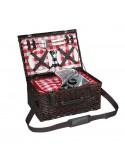 Cestino termico picnic Varese per 4 persone