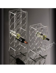 Plexiglass wine rack  8/12 bottles
