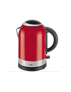 Red electric kettle Retrò Cilio lt.1,7