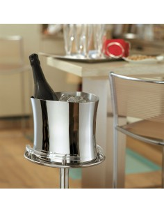 Bamboo sparkling wine bucket   by Sambonet