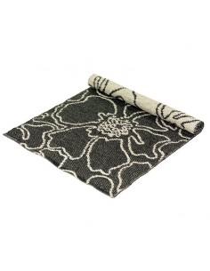 grey/black floor mat Sweedy 60x200 cm