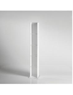 Portacd/libreria in acrilico Vesta