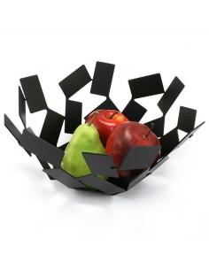 Cestino portapane/frutta Alessi Stanza dello Scirocco nero